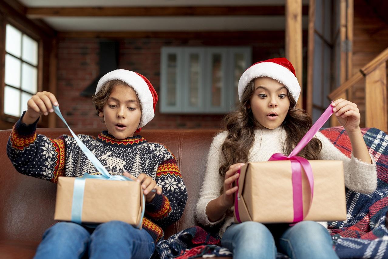 Paczki bożonarodzeniowe dla dzieci
